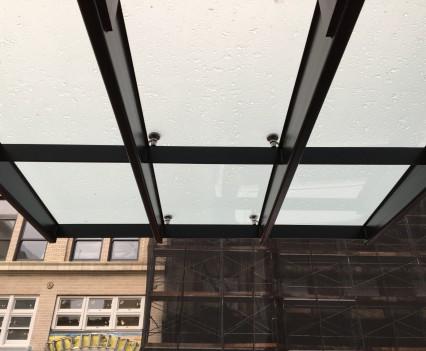 Galt Building Canopy
